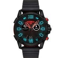 Diesel Full Guard 2.5 Health & Fitness GPS Smart Watch - Black & Red