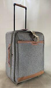 "Hartmann Tweed Classic Mobile Traveler 24"" Exp Upright Wheeled Suitcase Walnut"