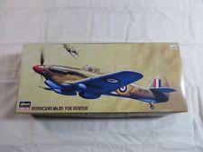 Hasegawa 1:72 Hurricane Mk.IID Fox Hunter  Model Kit 51392 Open Box AP132