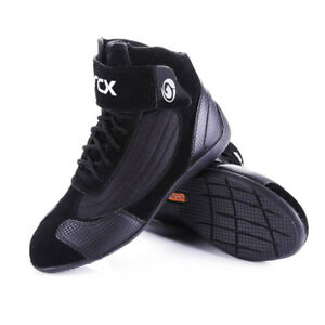 Motorcycle Boots Riding Moto Boot Cow Leather Cruiser Ankle motorcycle shoes