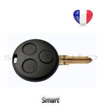 plip coque clé Smart Fortwo 450 Forfour 451 Roadster Coupe 3 boutons