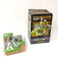 Minecraft Plains biome Collection Creeper Environment Playset Set 4 of 4