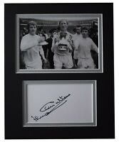 Jack Charlton Signed Autograph 10x8 photo display Leeds Utd Football AFTAL COA