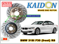 "BMW 318i F30 disc rotor KAIDON (front) type ""RS"" spec"