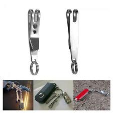 EDC Belt Hanger Stainless Steel Clip Holder Pocket