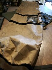 Military Shelter Tent HDT Base X lav Frame Bag and large vinyl square and spare