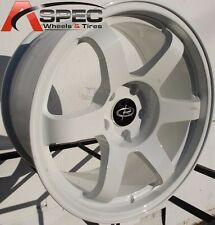 17X9.0 ROTA GRID WHEELS 5X100 RIMS 42MM WHITE (SET OF 4 )