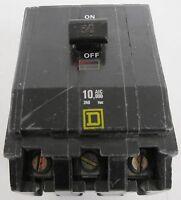 Square D Type QOB 3 Pole 240VAC 50A