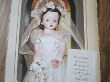 4pg Madame Alexander CISSY Doll Article AMERICAN ROMANCE Marries Phillip Doll/