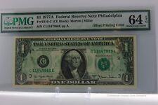 $1 1977-C Philadelphia- FULL Offset Printing ERROR PCGS 64 CU-PPQ  (New, PPQ!)
