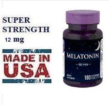 Mélatônine 12 mg - 180 comprimés - Expire en mars 2024