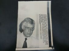Vintage Wire Press Photo-Arne Treholt Norwegian Diplo Convicted Spying 6/20/1985
