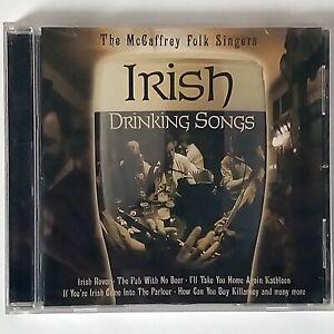 The McCaffrey Folk Singers - Irish Drinking Songs (CD Album, 2002 Time Music)