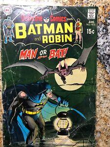 Detective Comics presents Batman And Robin #402 Bronze Age DC 1970