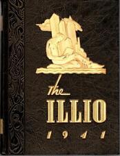 University of Illinois at Urbana Champaign 1941 Illio Yearbook Annual College