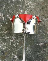 Krönchenstecker + hohes Teelichticht Kuchen Kranz Jardiniere Flasche    SILBER