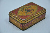 Vintage Jintan Medicine Ad Litho Tin Box , Japan