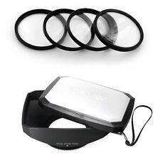 16:9 Wide Lens Hood,Macro filter for Sony DSC-HX1, HDR FX1,HDR-FX1000,HVR-Z5 Z5U