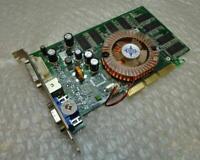 Genuine 256mb MSI FX5500-TD256 MS-8911 VGA DVI PCIe Graphics Card (Green)