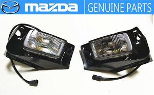 NEW!!MAZDA 1989-1992 RX-7 FC3S Front Fog Lamp Light Set OEM JDM S5
