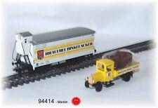 """Märklin 94414 Bierwagen """" Dinkelacker """" avec Metall-Lkw # Neuf dans Emballage #"""