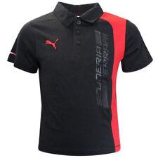 Camisas de niño de 2 a 16 años de color principal negro