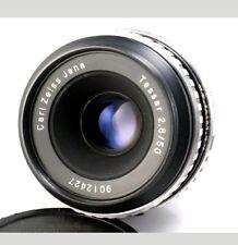 Sharp Carl Zeiss Jena 50MM 1:2.8 Tessar M42 Zebra Lens Praktica Pentax