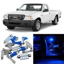 7pcs Blue Interior LED Light Package Kit for Ford Ranger 1998-2011