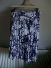 Fully Lined Multi Pleated Skirt, Size 12, M&S, BNWT  £35