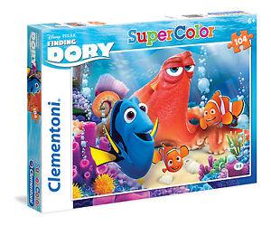 Clementoni Kinderpuzzle 104 Teile Disney: Findet Dory (27963) Nemo