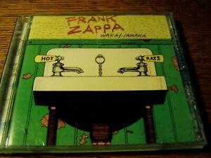 Frank Zappa Waka Jawaka Ryko Green Case CD