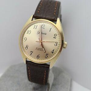 Vintage Elgin Galaxie 17Jewels men's manual winding watch FE 140  1970s