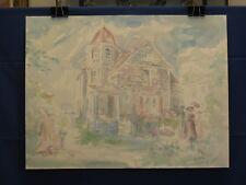 Victorian House (Barbara Pugsley watercolor)