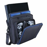 Multifunctional Carry Bag Travel Case Handbag For Sony PlayStation 4 PS4 Console