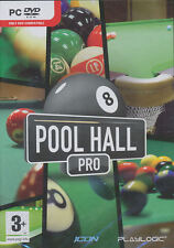 POOL HALL PRO Billiards 8 Ball Snooker PC Sim Game NEW!