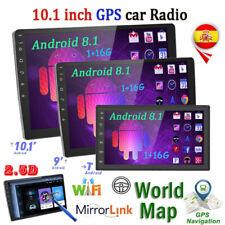 """10.1"""" 2 Din Radio de Coche Android 8.1 Pantalla táctil MP5 Reproductor GPS Navi"""