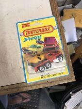 Matchbox #19 Superfast Cement Truck 1975 Lesney on Blister Card