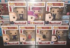 FUNKO POP - THE ROYALS SET INC DIANA CHASE *PROTECTORS INCLUDED* NEU/OVP