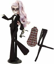 ZOMBY GAGA MONSTER HIGH BORN THIS WAY LADY GAGA DOLL new in box
