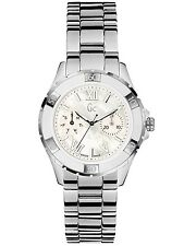 NEW-GUESS COLLECTION SILVER SWISS MADE SPORT XL-S GLAM MEN'S MOP WATCH X7001L1S