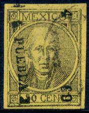 ba13 Mexico #62a 50ctv tk fig. w/o period var, Puebla 4-69 Lite cnl Est $20-40