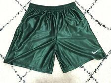 shorts 90s Nike Men's Basketball Short Satin Green Athletic Workout Soccer sz S