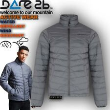 Mens Padded Jacket Hiking Lightweight Outdoor Work Quilted Insulated Coat Addl