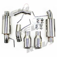 """Rev9 For Mustang 05-10 V8 GT/GT500 2.5"""" Dual Axle Back FlowMaxx Exhaust System"""