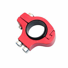 Bike Bicycle Cycling Water Bottle Cage Holder Handlebar Bar Adapter Tool Red