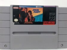 RIVAL TURF Super Nintendo SNES Writing