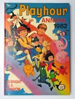 PLAYHOUR ANNUAL 1982 NOT PRICE CLIPPED NO LOOSE PAGES