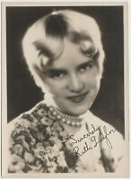 Ruth Taylor Vintage 1920s Era 5x7 Movie Star Fan Photo
