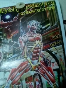 Vintage, Rare Only Record Stores had These! Iron Maiden Somewhere In Time Promo