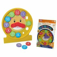 Funtime 2 in 1 Time Learning Puzzle Clock & Shape Sorter Toy